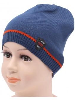 Детская вязаная шапка Щит DV10421-46-50