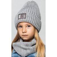 Детская вязаная шапка D624285-48-52 Диана