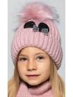 Детская вязаная шапка D629295-46-50 Минни