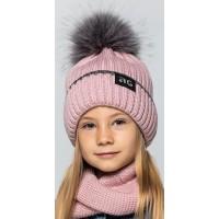 Детская вязаная шапка D644295-50-54 Мери