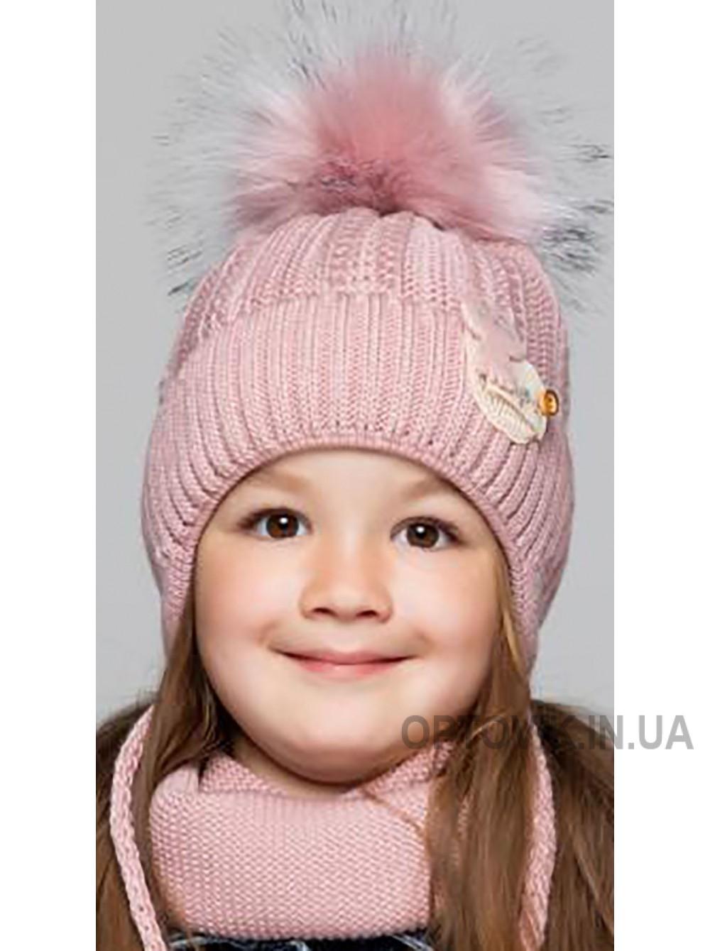 Детская вязаная шапка D622295-46-50 Китти