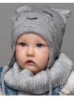 Детская вязаная шапка D645285-44-48 Аниме