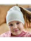 Детская трикотажная шапка Россыпь