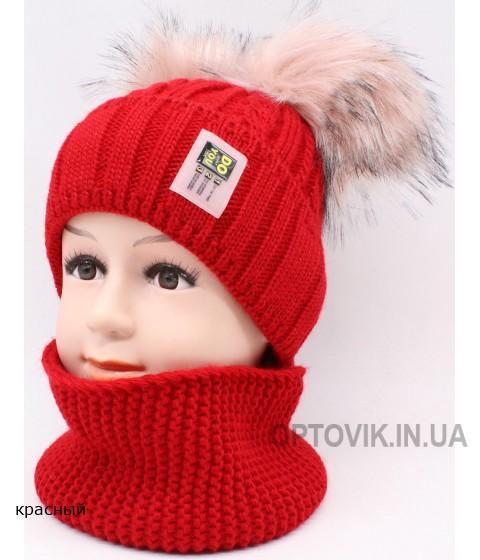 Детский вязаный комплект SV-76K Дарья 345-48-50