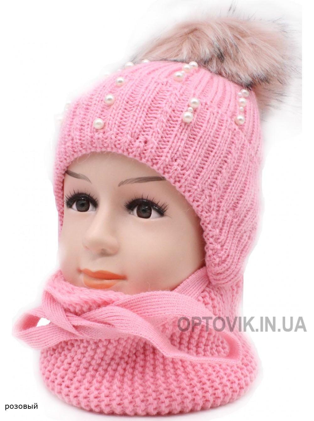 Детский вязаный комплект SX-32K Варя-415-48-50