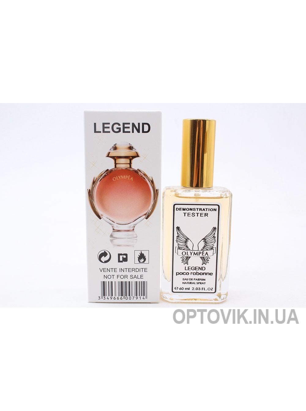 Женский парфюм тестер: Legend paco rabanne 60мл
