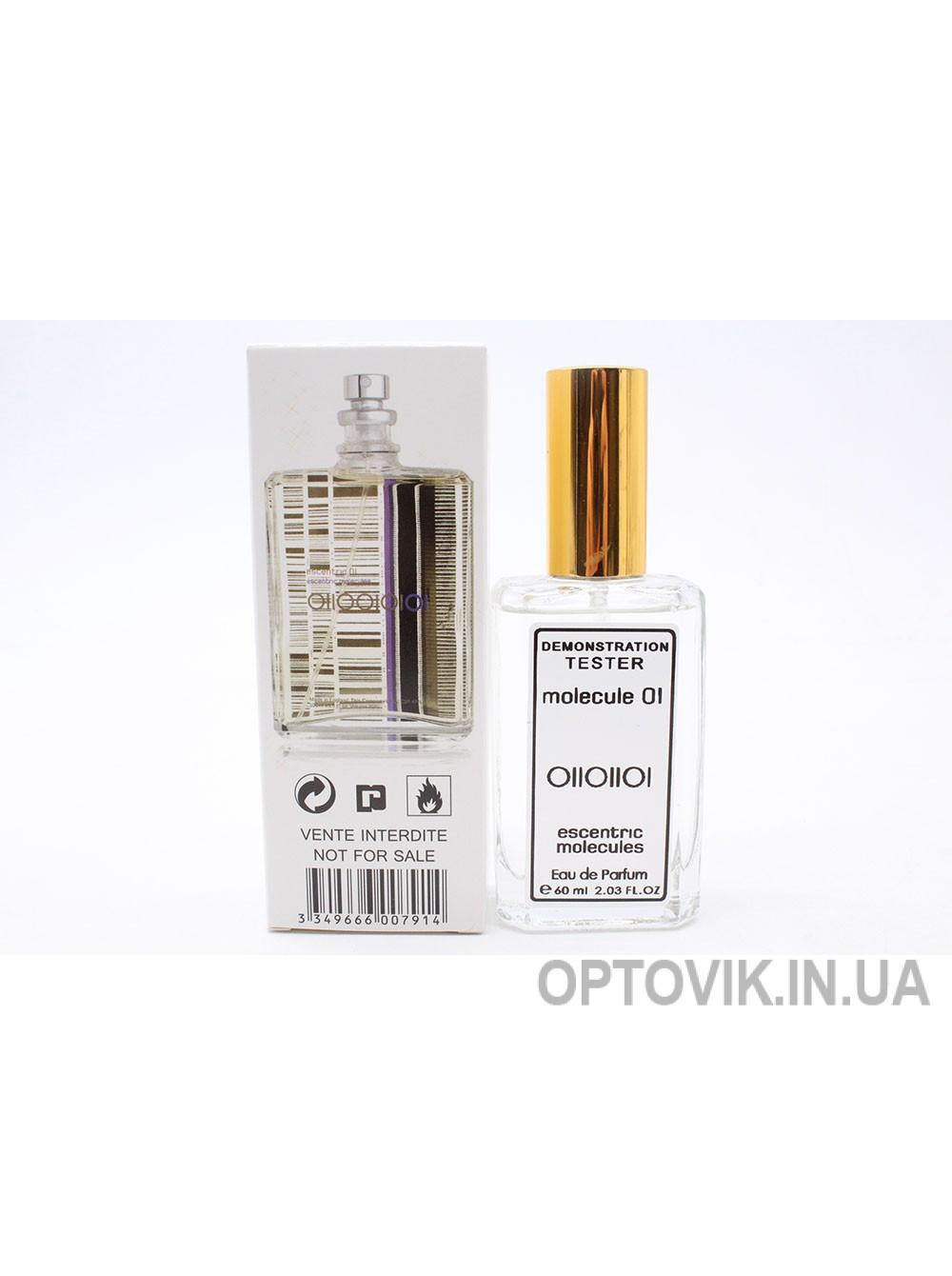 Женский парфюм тестер: escentric molecules molecule 01 60мл