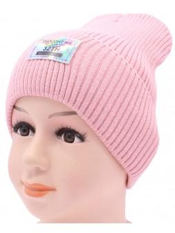 Детская вязаная шапка №002185-52-54