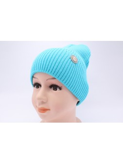 Детская вязаная шапка №006185-52-54