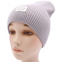 Детская вязаная шапка №009185-54-56