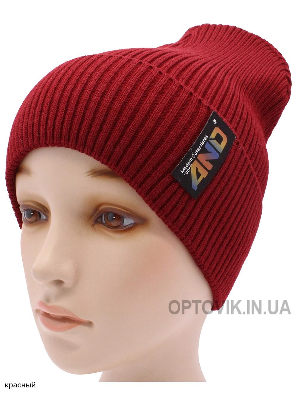 Детская вязаная шапка №011185-54-56
