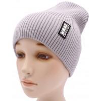 Детская вязаная шапка №015185-54-56