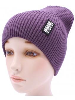 Детская вязаная шапка №016185-54-56