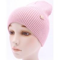 Детская вязаная шапка №039185-54-56