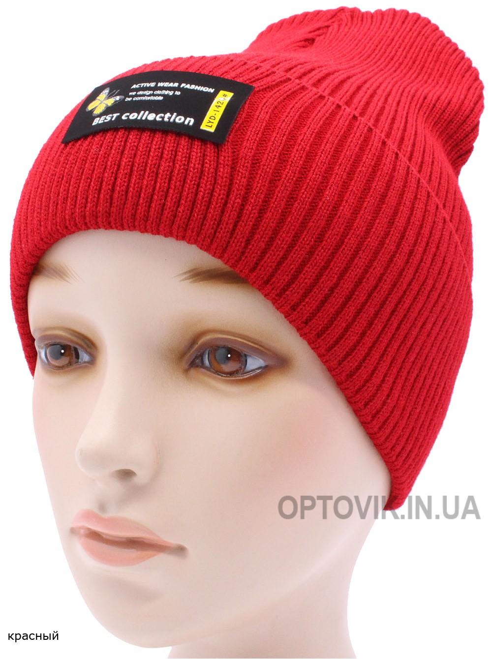 Детская вязаная шапка №040185-54-56