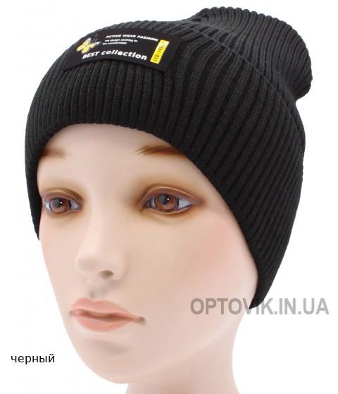 Детская вязаная шапка №041185-54-56