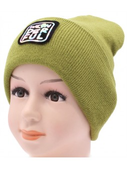 Детская вязаная шапка №058210-52-54