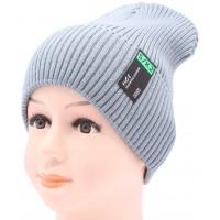 Детская вязаная шапка №033185-52-54