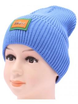 Детская вязаная шапка №035185-52-54