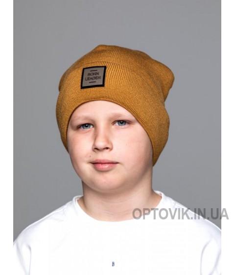 Детская вязаная шапка Тео D79626-50-54