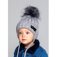Детская вязаная шапка Тима D75632-46-50